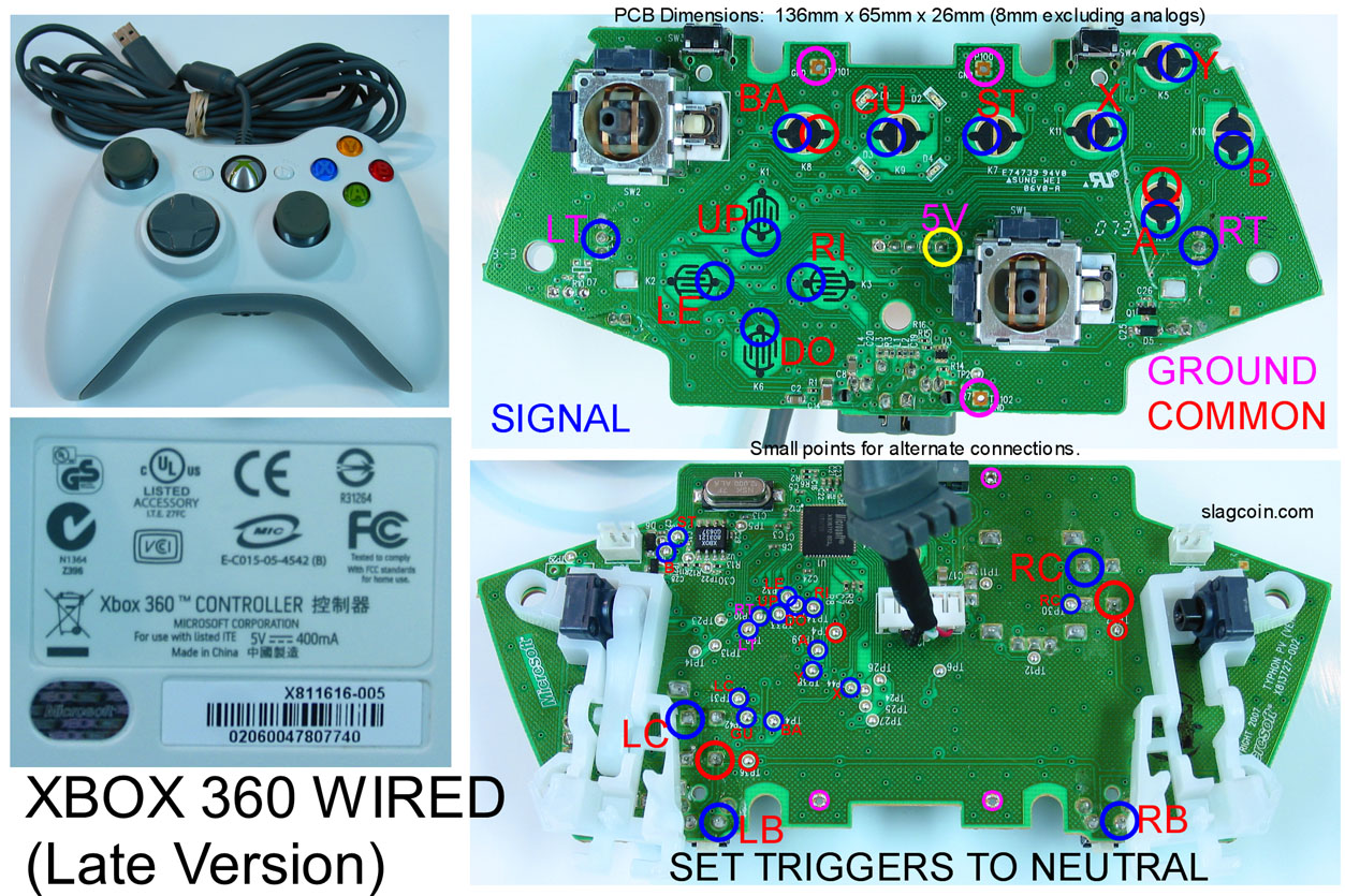 diagram_wired late hot wet brain dentritic desire One-Handed Xbox Controller at fashall.co